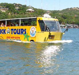 Austin duck tour